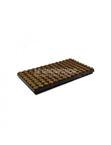Plateau de laine de roche 126 alvéoles 28 x 40mm