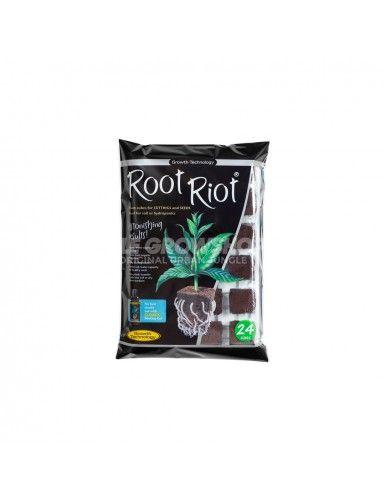 Plateau à semis et bouturage Root Riot 24 cubes 30 x 30 x 50 mm