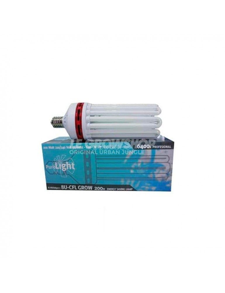 Ampoule CFL 200W Croissance de Pure Light