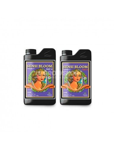 Pack engrais bi-composants floraison pH perfect Sensi Bloom A+B Advanced Nutrients
