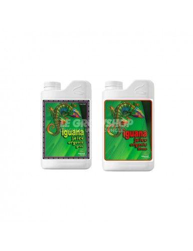 Gamme Organic Iguana Juice Grow Bloom Advanced Nutrients