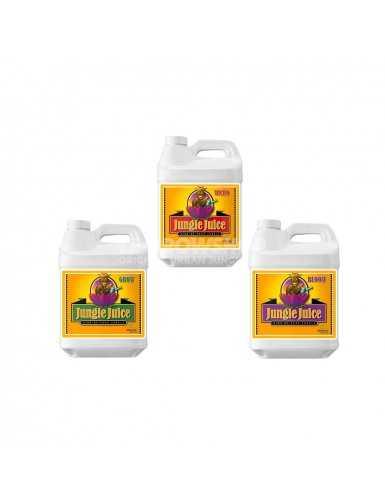 Gamme Jungle Juice Micro Grow Bloom Advanced Nutrients