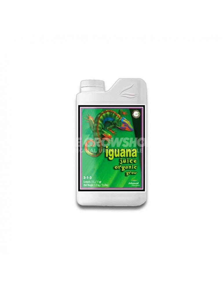 Engrais bi-composants croissance Iguana Juice Grow Advanced Nutrients