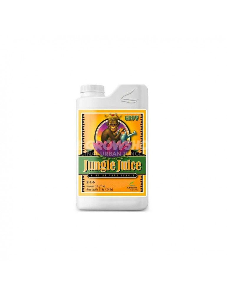 Engrais tri-composants croissance Jungle Juice Grow Advanced Nutrients