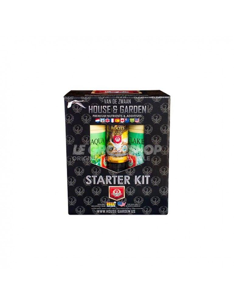 Kit de démarrage Starter Pack Aquaflakes House&Garden