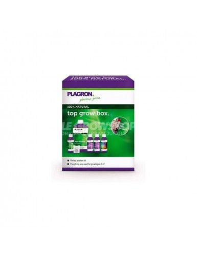 Pack complet Top Grow Box 100% Natural Plagron